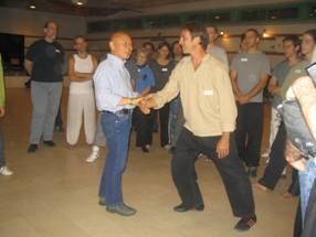 מארק וייסמן עם מאסטר פונג הא